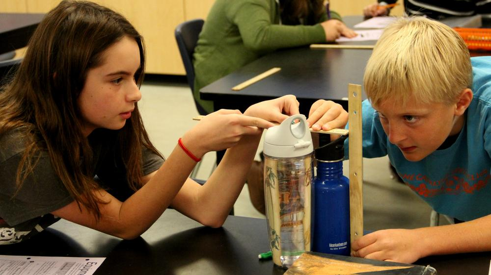 Templeton Middle School Science Lab