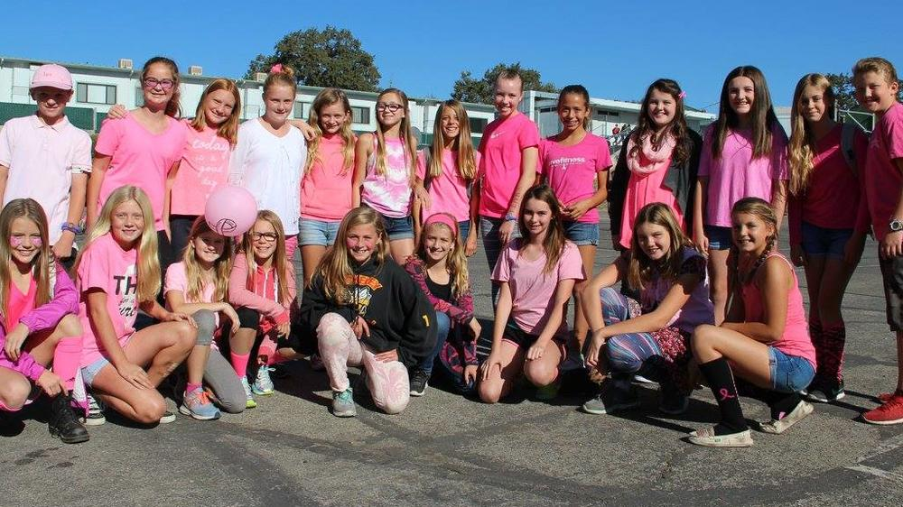 Cancer Awareness Pink Day at TMS