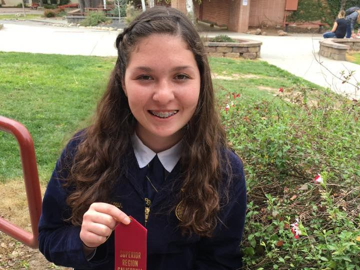 Leea placed 5th high in creed