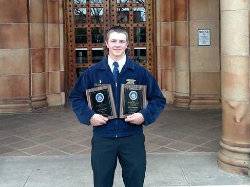 Congrats to Will Schumacher for Forage Production and Ag Processing