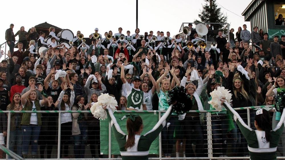 Student Section of Football Game
