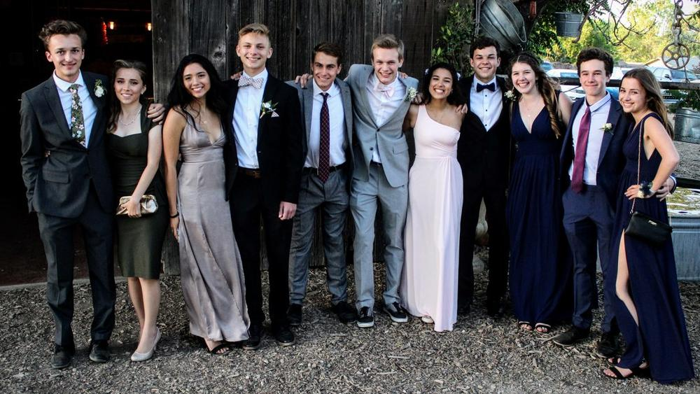 Prom at Home Sweet Home in Templeton