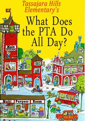 small what does the PTA do all day