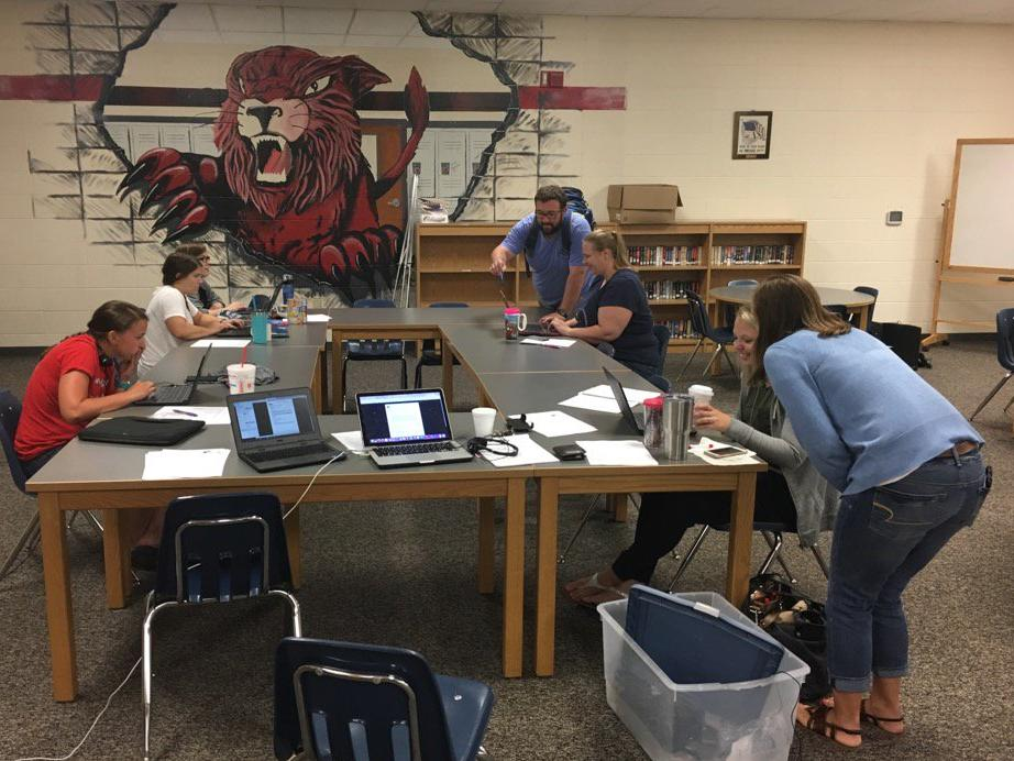 Union R-XI staff earning their Google Certifications