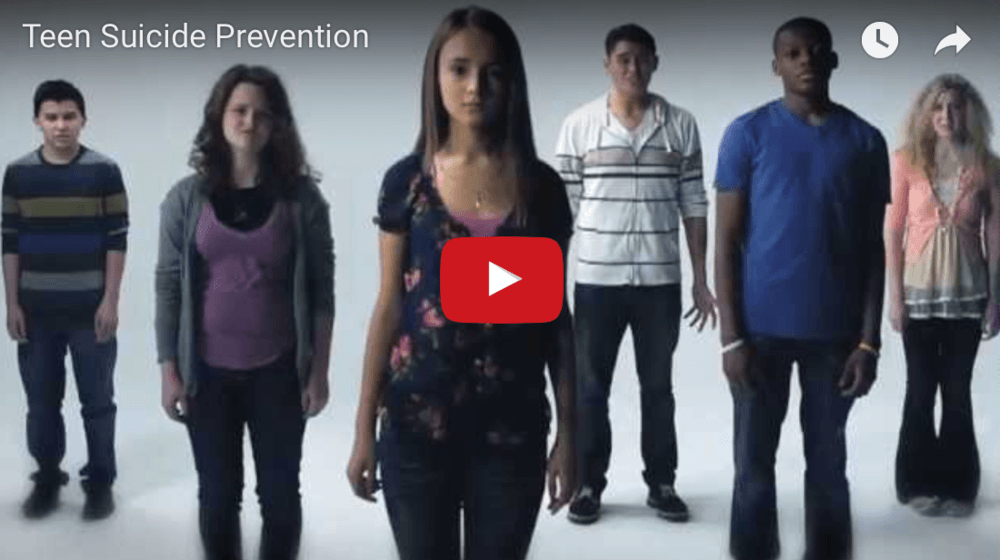 screen shot of suicide prevention video