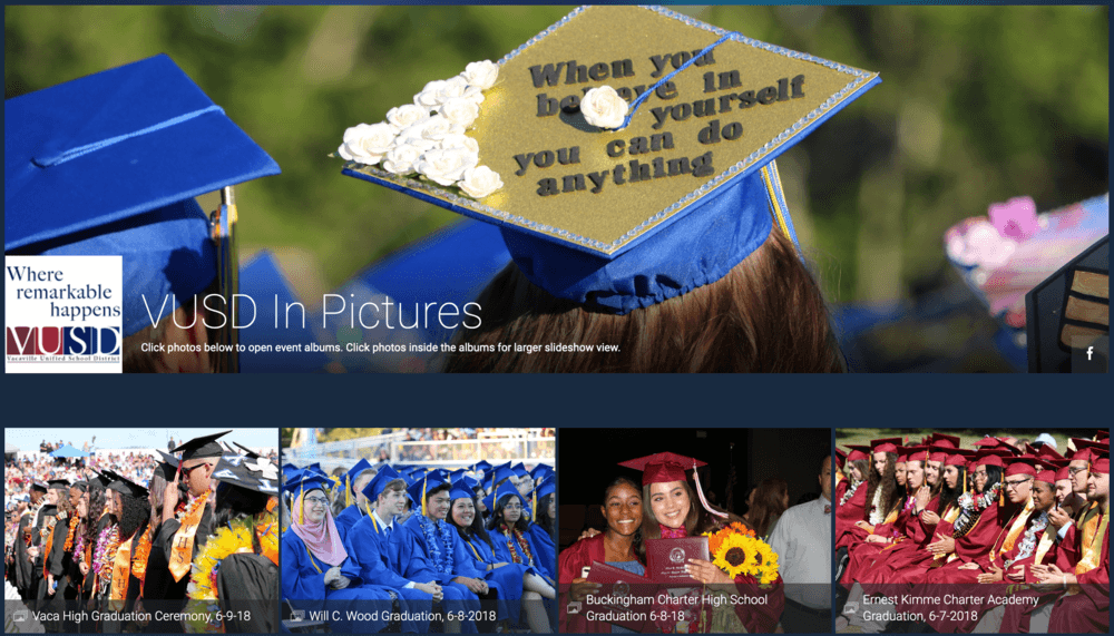 preview of VUSD photo albums