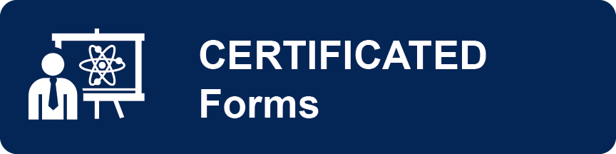 certificated forms