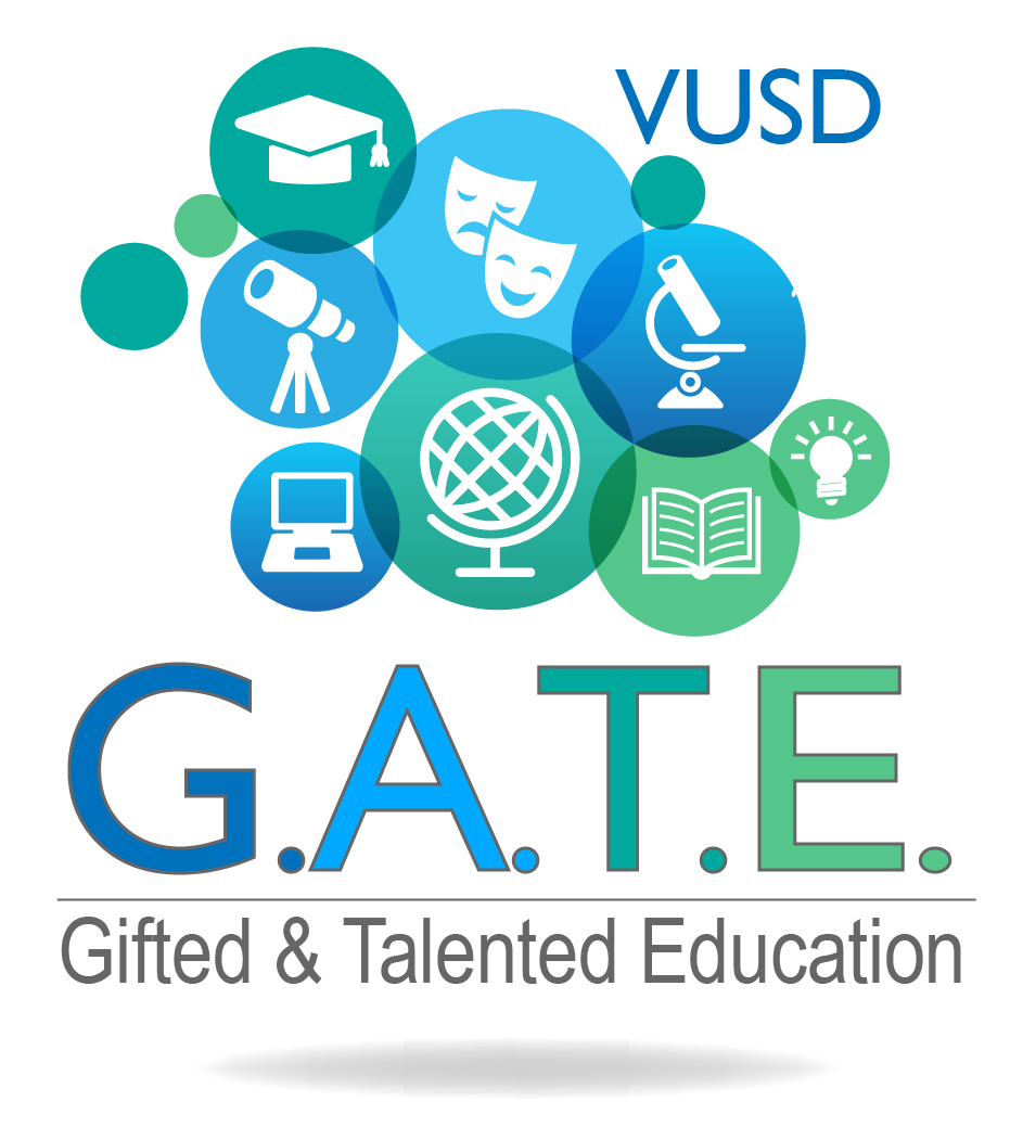VUSD gifted and talented education logo