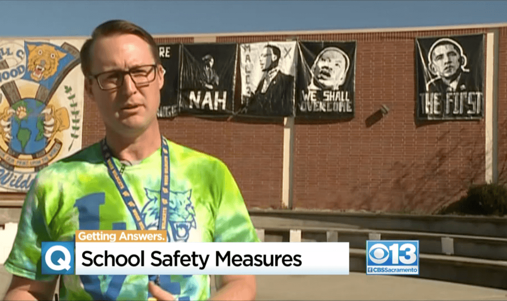 School safety measure in news