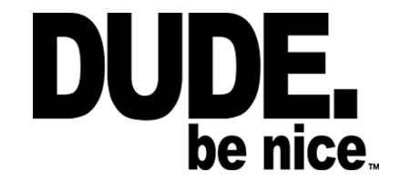 Dude Be Nice logo