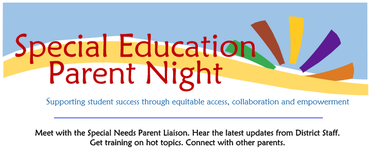Special Ed Parent Night