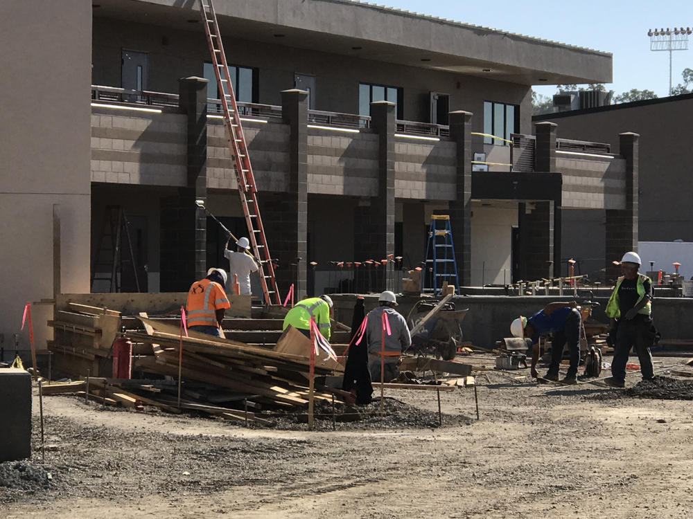 concrete footings and construction