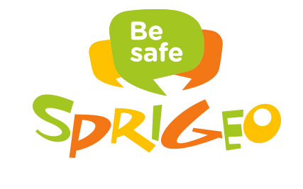 Be Safe SPRIGEO logo