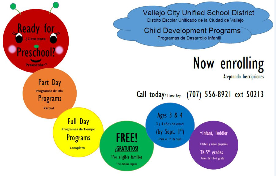 VCUSD Child Development Programs
