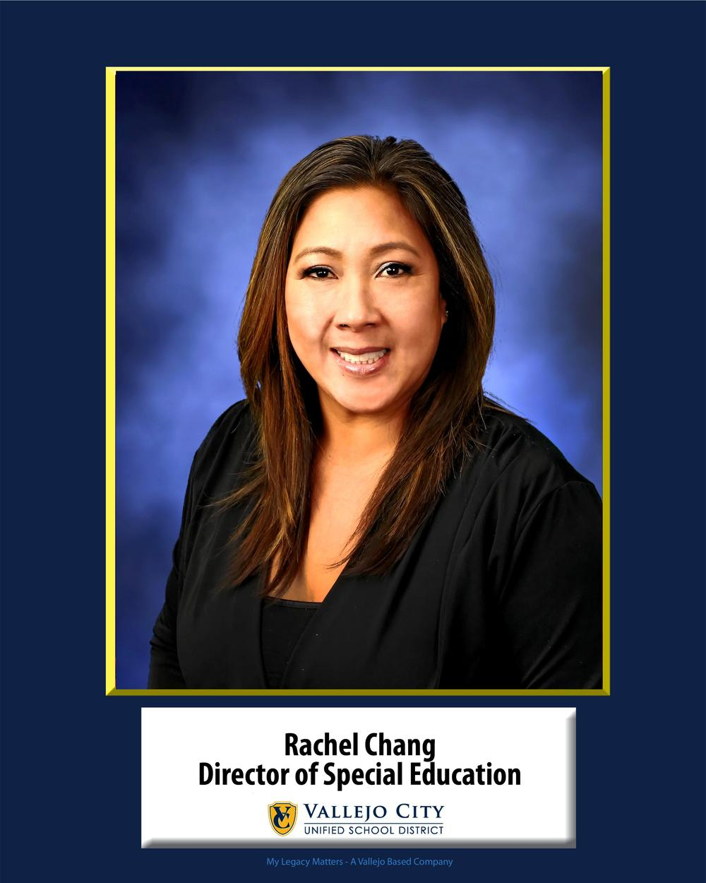 Rachel Chang, Director of Special Education