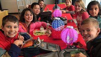 Chinese New Year in the Cafeteria