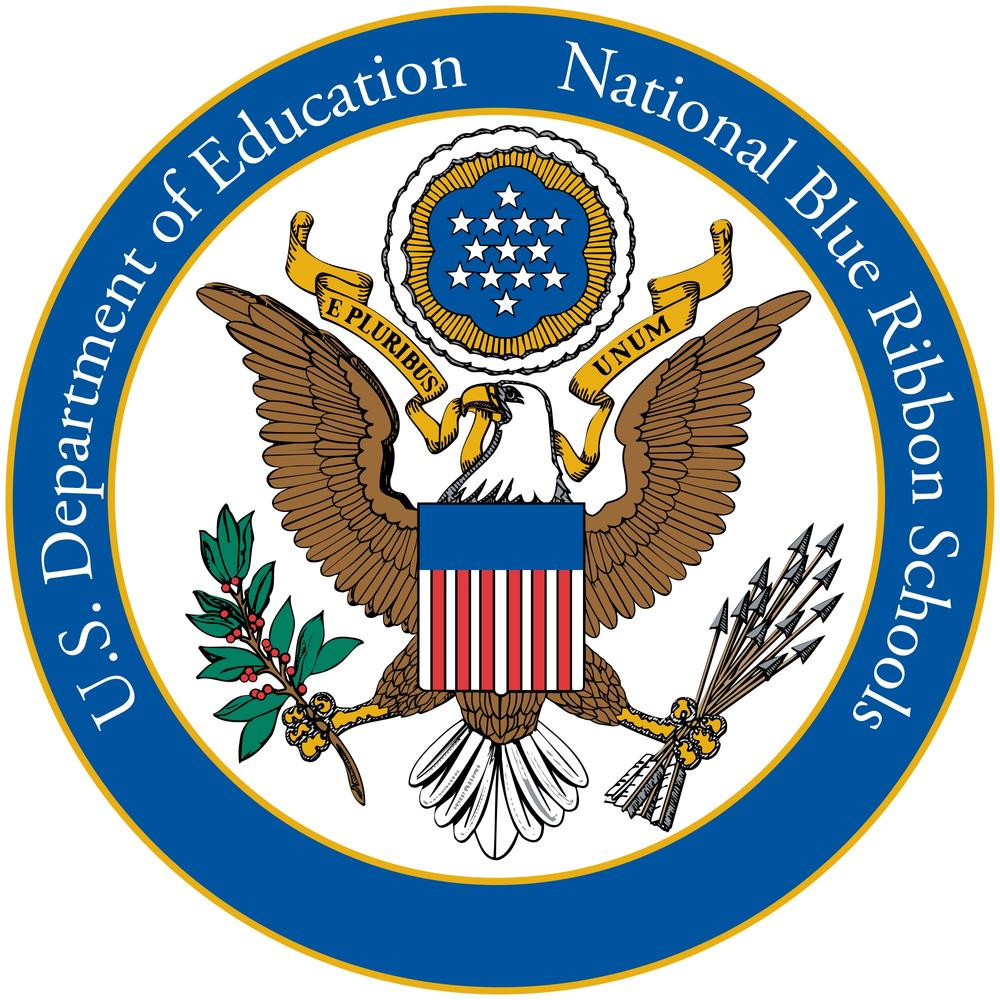 US Department of Education - National Blue Ribbon School logo