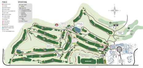 Silverado North Site Map