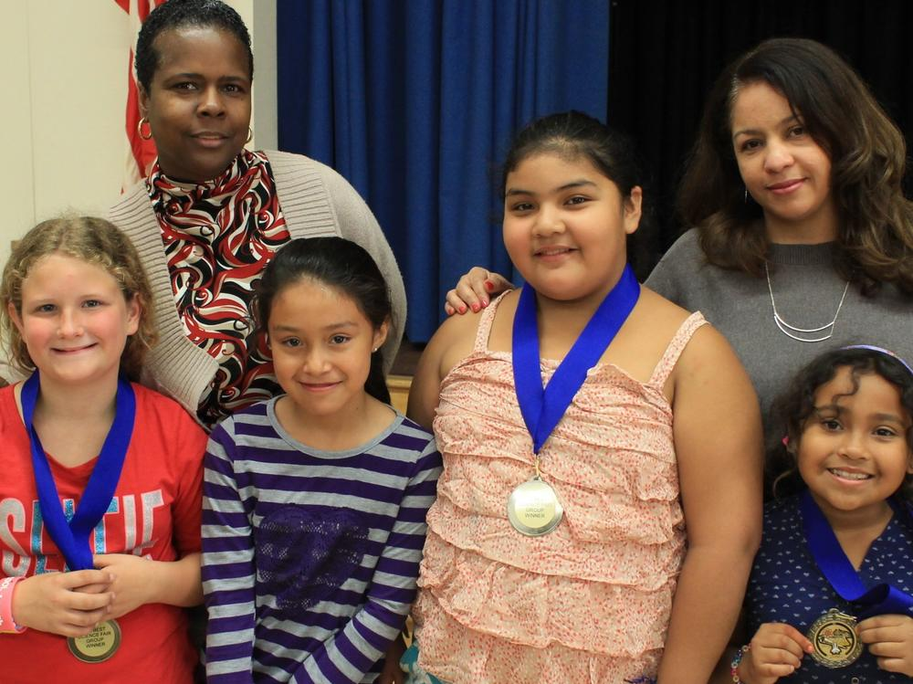 Congratulations to our students who received 1st Place at L.A. s Best National  Science Fair