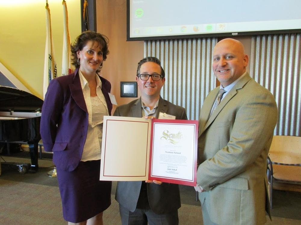San Ramon Recognition Project 2015-2016