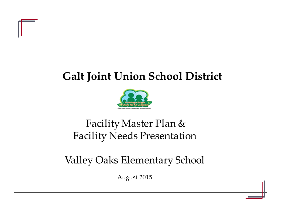 Valley Oaks ES Community