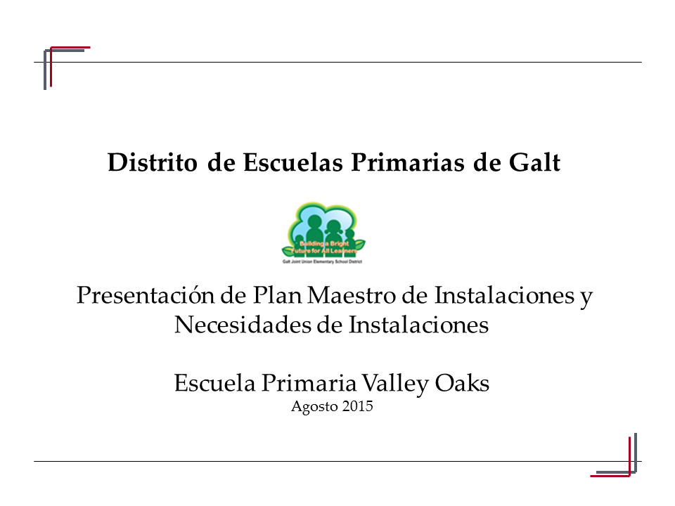 Span. Valley Oaks Presentation