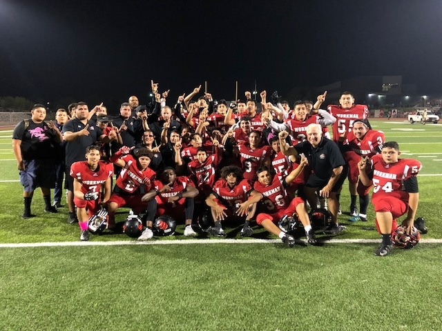 Football Wins Montview League Championship