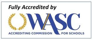 Fully Accredited by WASC