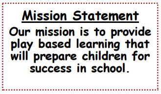Daycare Misson Statement