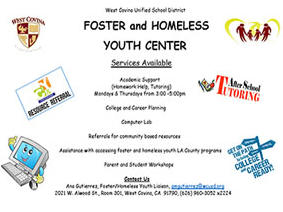 Foster and Homeless Youth Center offers many services and support