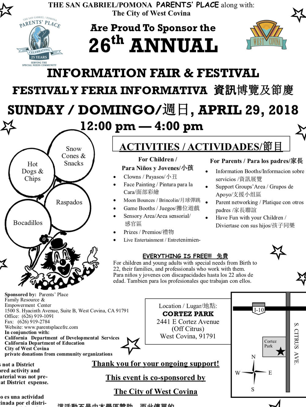 Information fair and festival