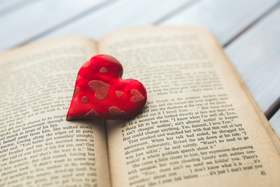 Book and Heart picture