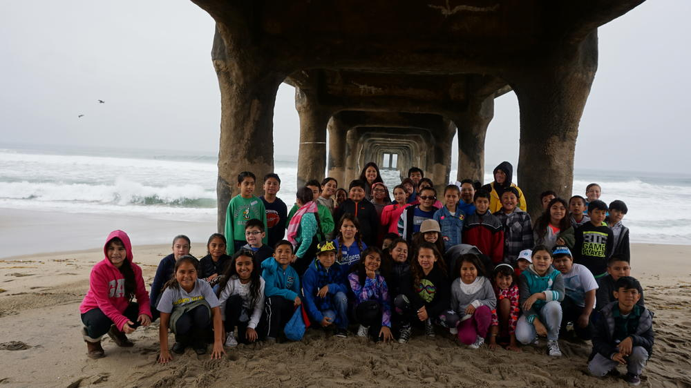 Mrs.Simpson Third grade class at the waterfront field trip
