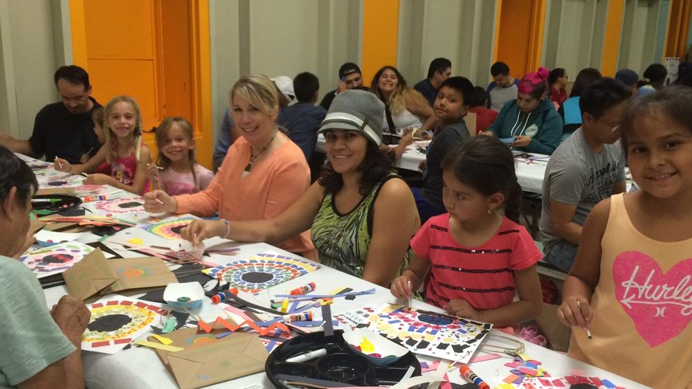 Green Parents and Students get artistic at P.S Arts Night