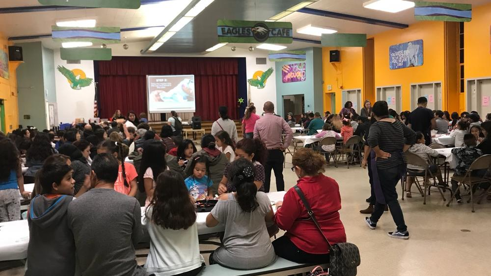 Full house at Green during our PS. ARTS Night!