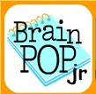 brain pop junior with notebook