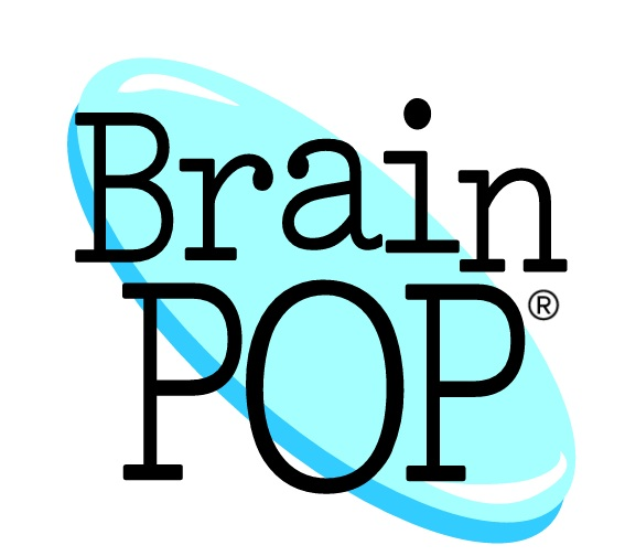 brain pop with blue disc