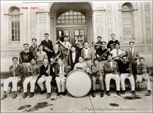 WHS Band 1926-27