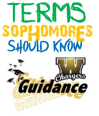terms sophomores should know