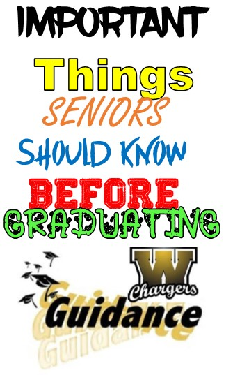important things seniors should know before graduating