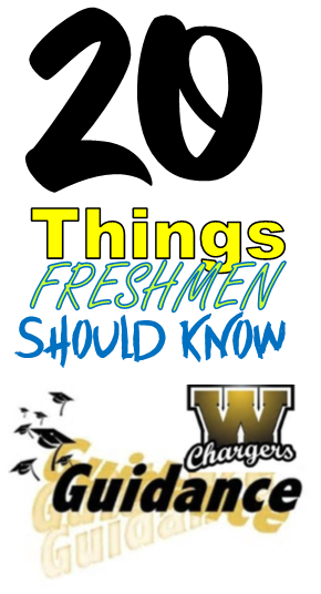 20 things freshman should know