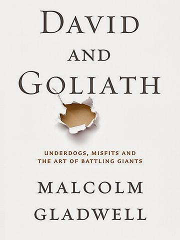 David and Goliath by Malcolm Gladwell, from Teen Read Week