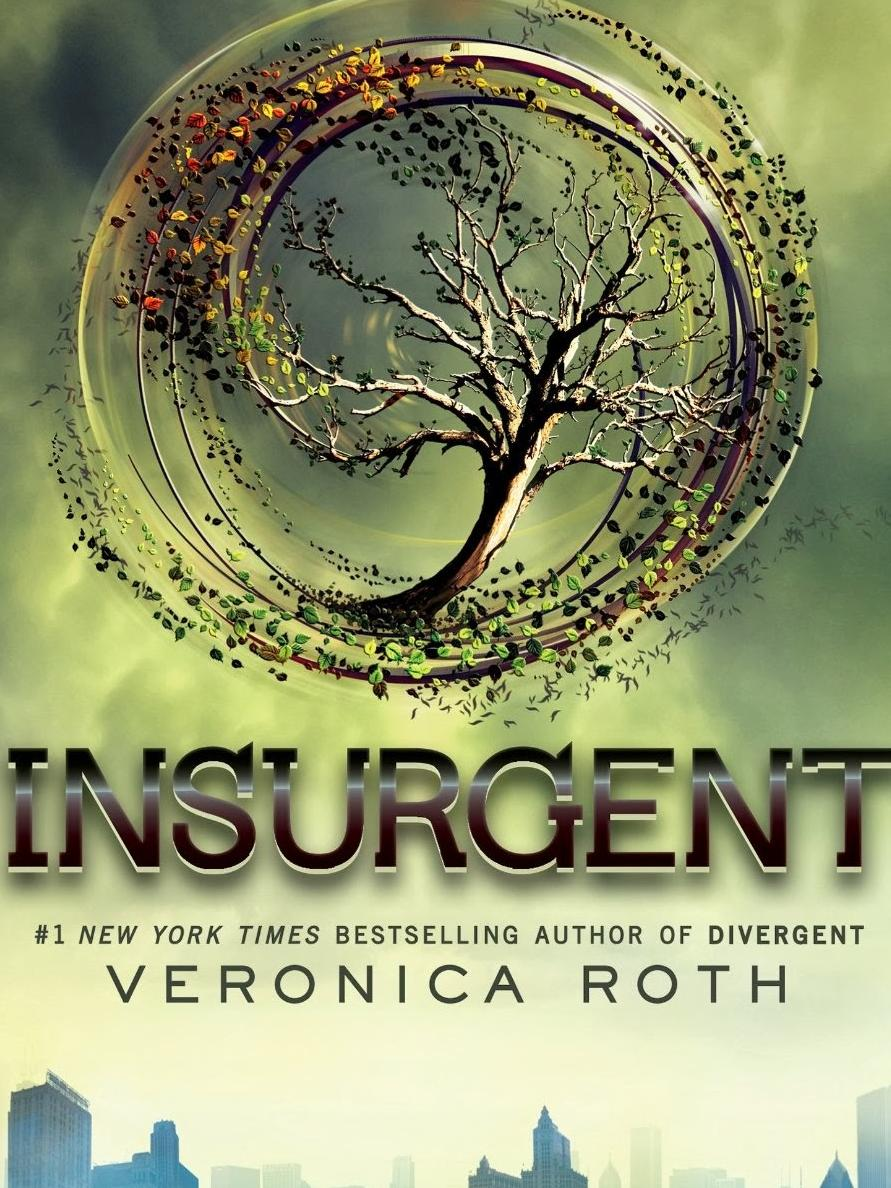 Insurgent by Veronica Roth, from Teen Read Week