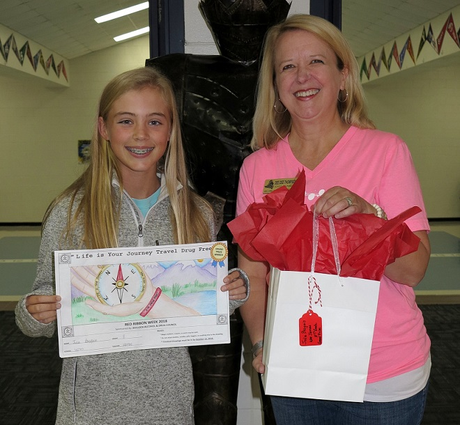 Red Ribbon Week Winner