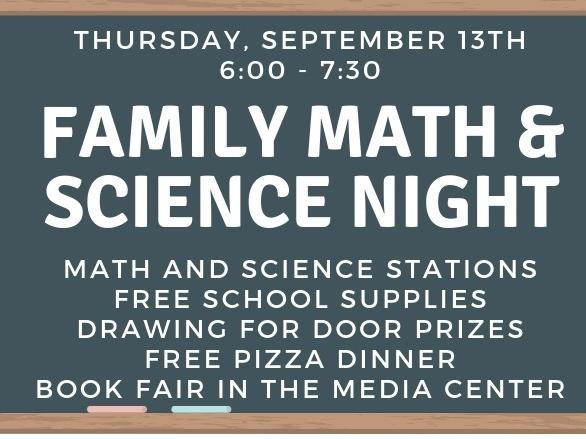 Family Math and Science Night