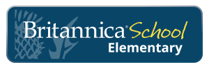 Britannica School Elementary Logo and Link