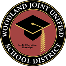 Woodland Joint Unified School district logo