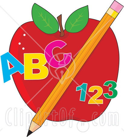 29988-Clipart-Illustration-Of-An-Educational-Red-Apple-With-A-Yellow-Pencil-Abc-And-123(1)