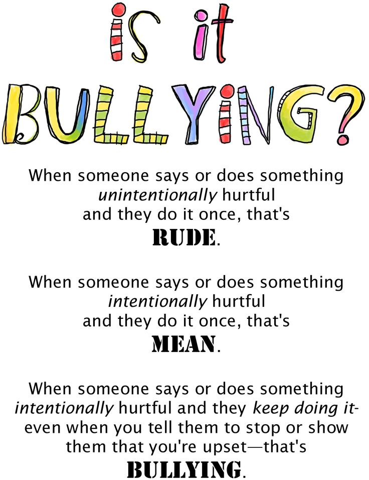 Is it Bullying? Bullying description