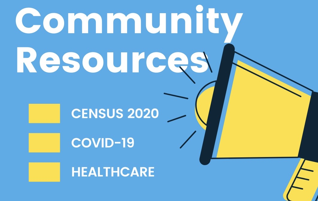 Click image to access community resources